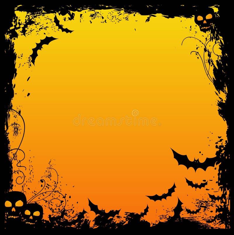 конструкция halloween иллюстрация вектора