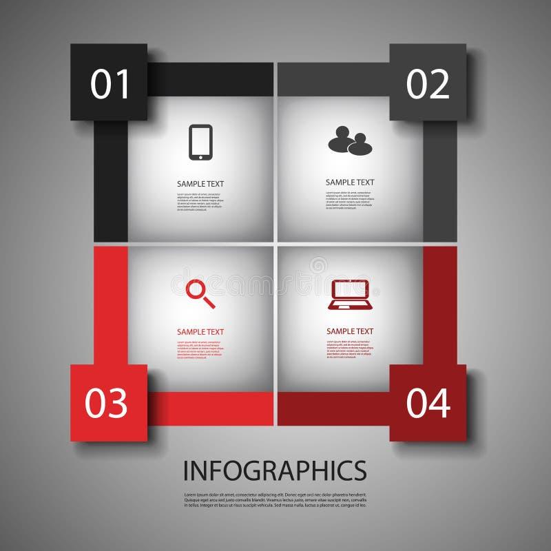 Конструкция Infographic иллюстрация вектора