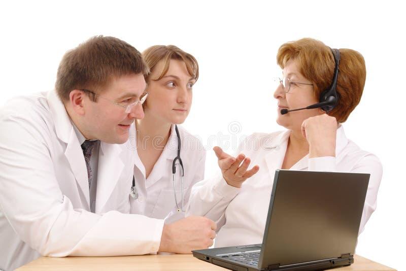 консультация медицинская стоковое изображение
