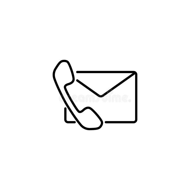 Контактируйте нас, почту и телефон на белой предпосылке стоковая фотография