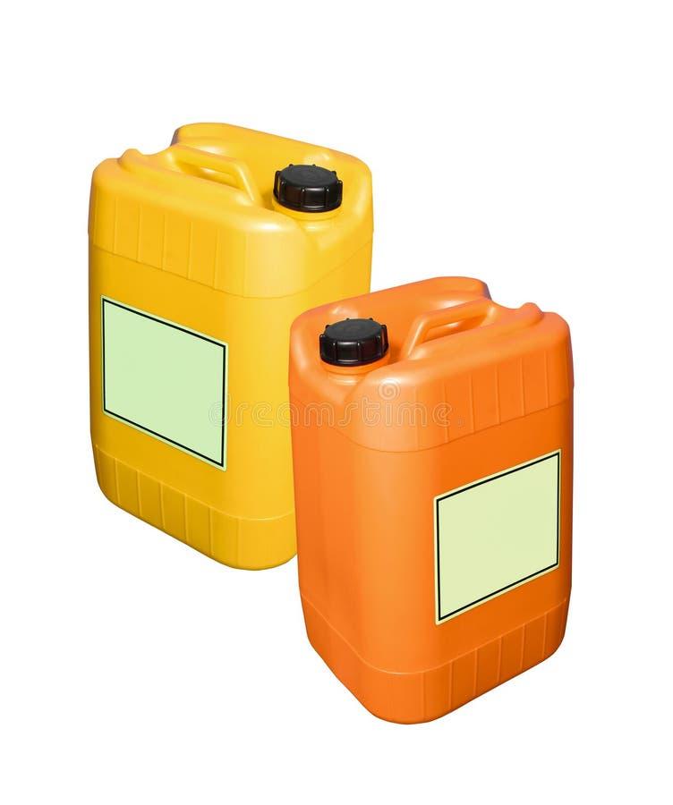 Контейнеры топлива стоковое фото rf