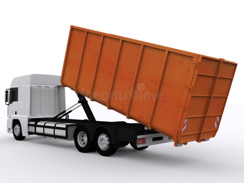 Контейнер мусорного контейнера бесплатная иллюстрация
