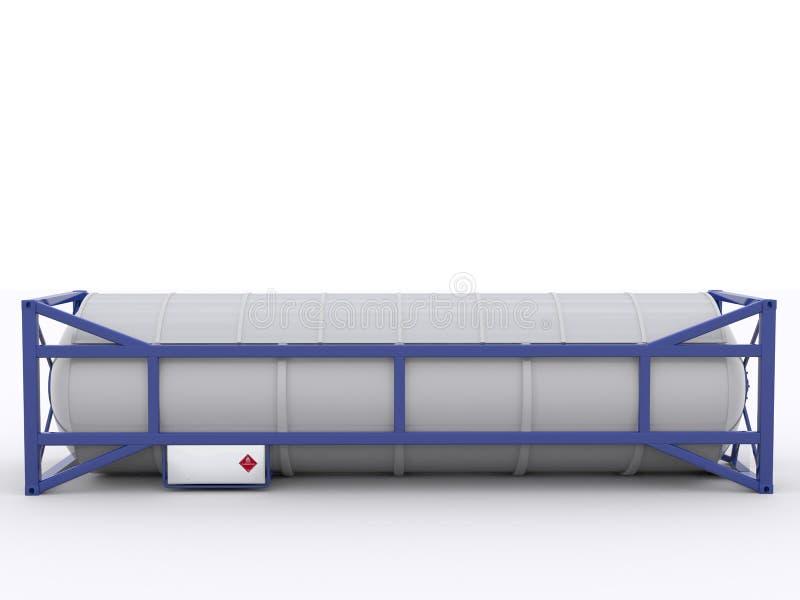 Контейнер танка иллюстрация вектора