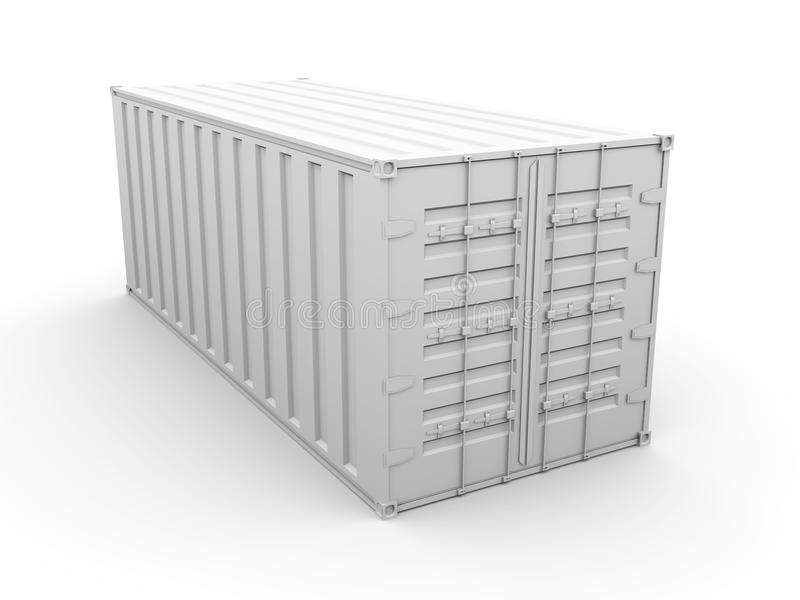 контейнер иллюстрация вектора
