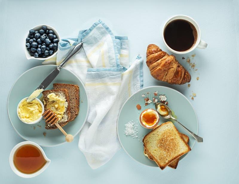Континентальный завтрак стоковая фотография
