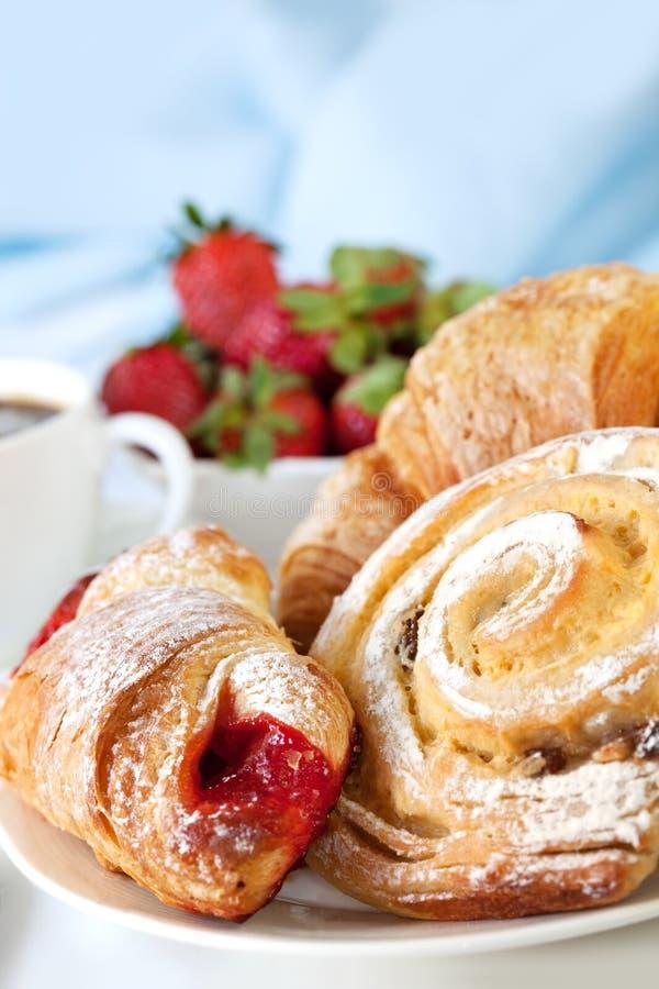 Континентальный завтрак стоковое изображение