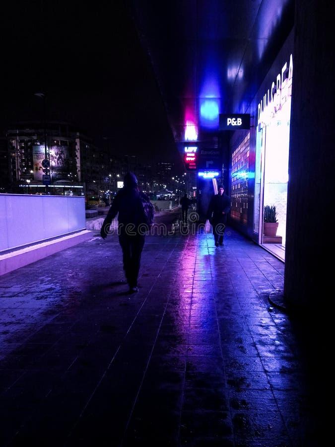 Контраст в моем городе стоковое изображение