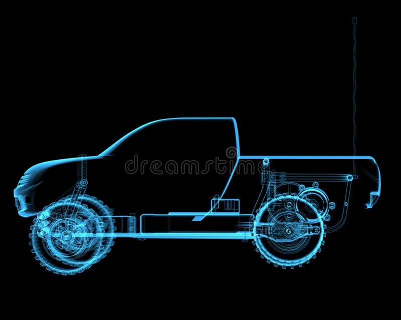 Контролируемый радио автомобиль игрушки R/ иллюстрация штока