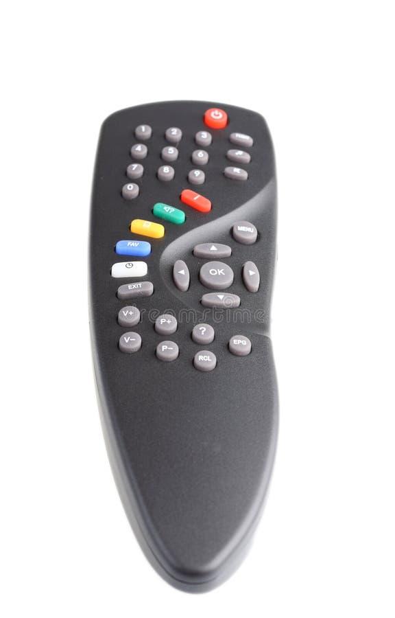 контролируйте дистанционное телевидение стоковые изображения rf