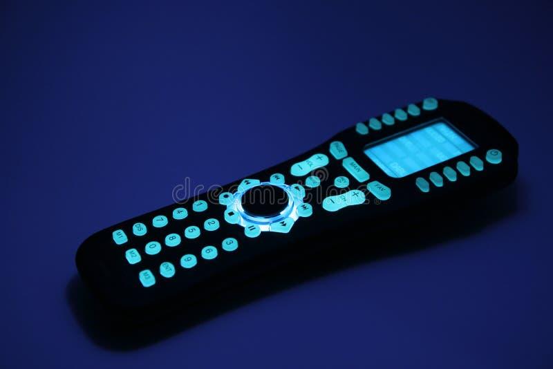 контролируйте remote ночи стоковое фото rf