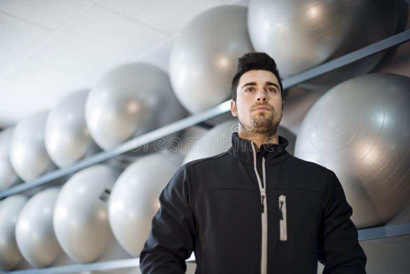 Контролируйте тренера фитнеса стоковые изображения