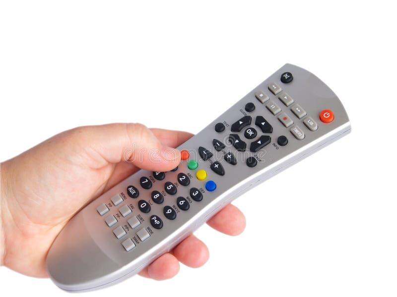 контролируйте remote руки стоковые фотографии rf