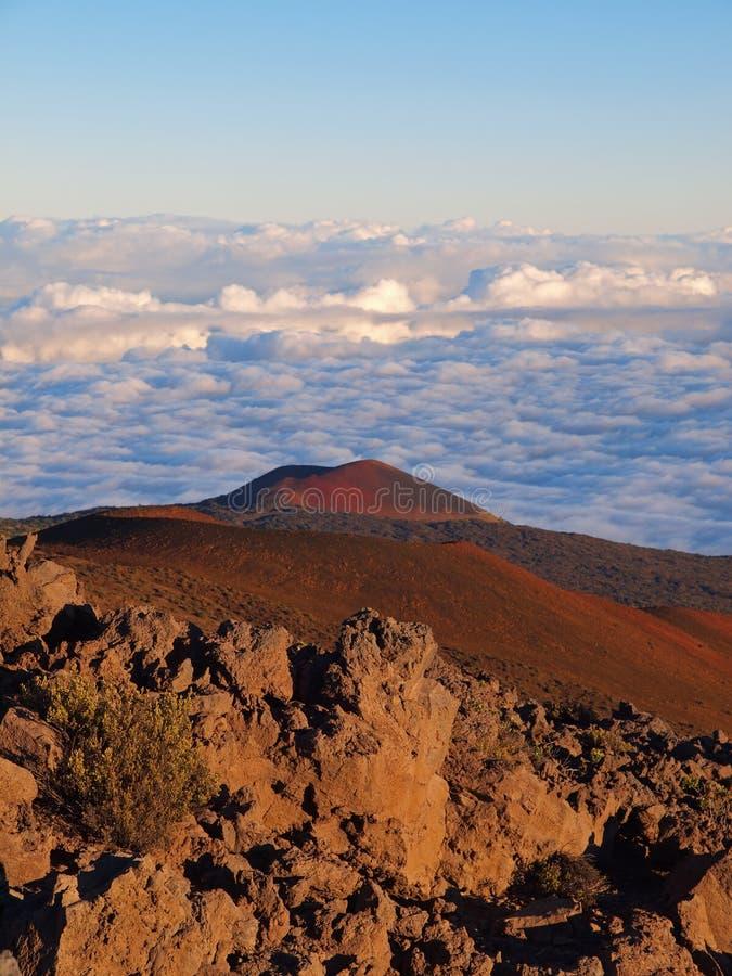 Конус гари на Mauna Kea стоковые изображения
