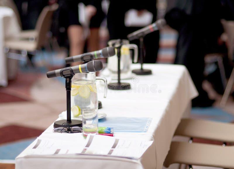 Конференция дела стоковое изображение