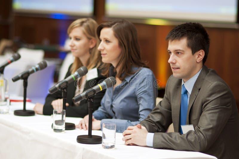 Конференция дела стоковые фото