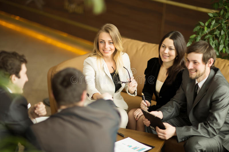 Конференция предпринимателей стоковые изображения rf