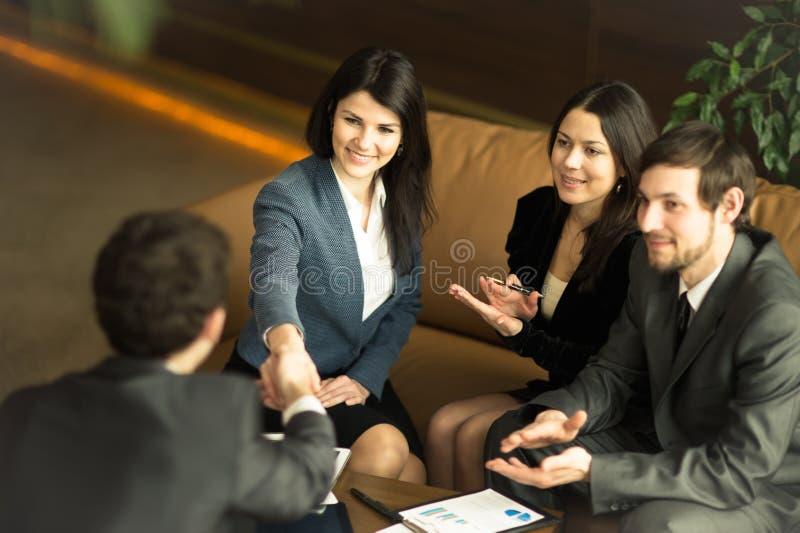 Конференция предпринимателей стоковое изображение rf