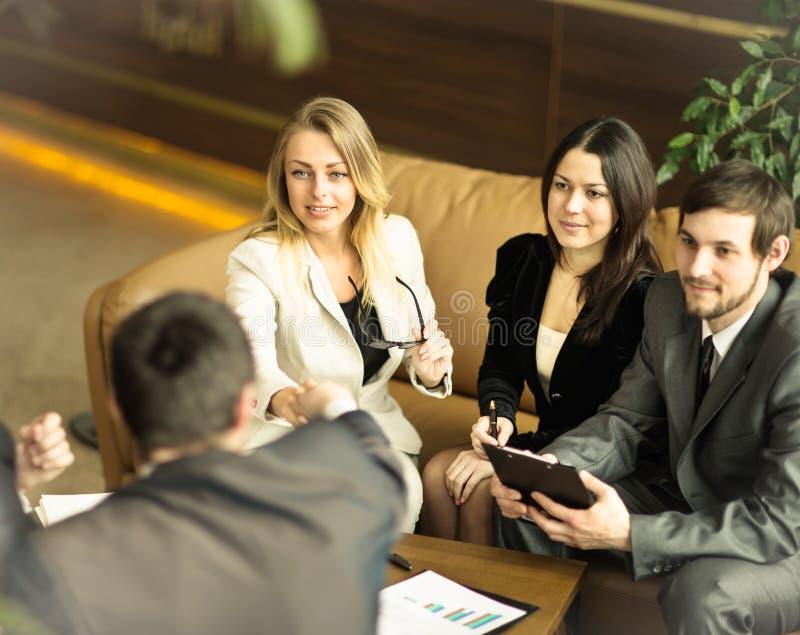Конференция предпринимателей стоковые фото