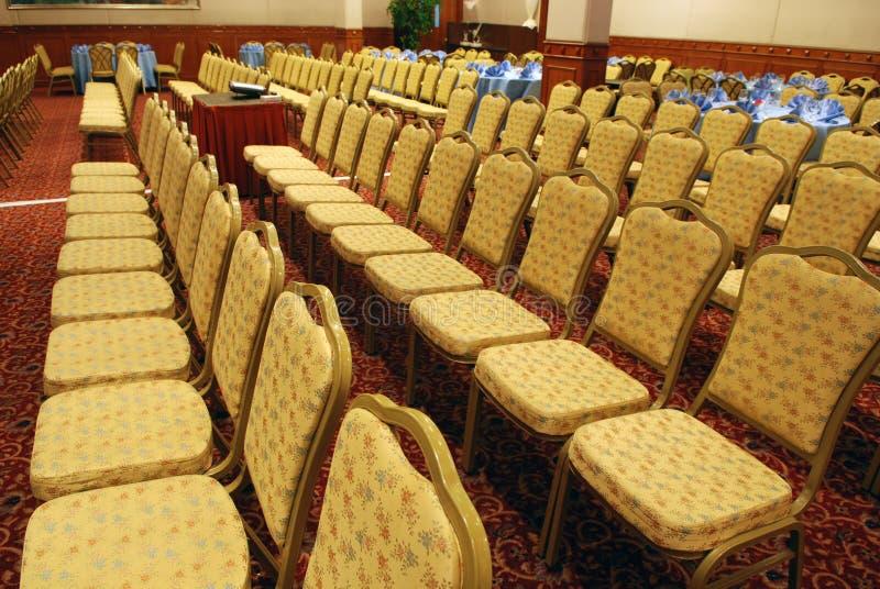 конференц-залы стула стоковое изображение rf
