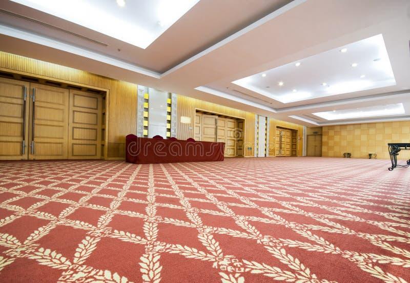 конференц-зал корридора стоковая фотография