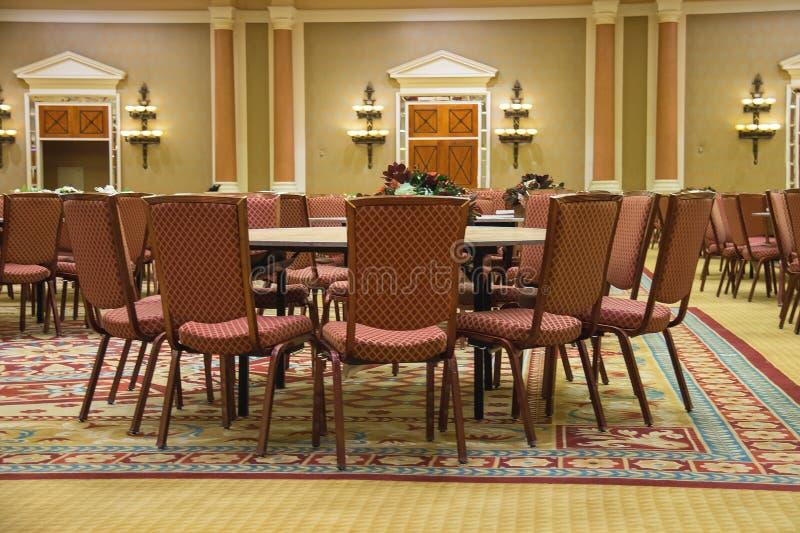 Конференц-зал в Сизарс Палас в Лас-Вегас стоковое изображение