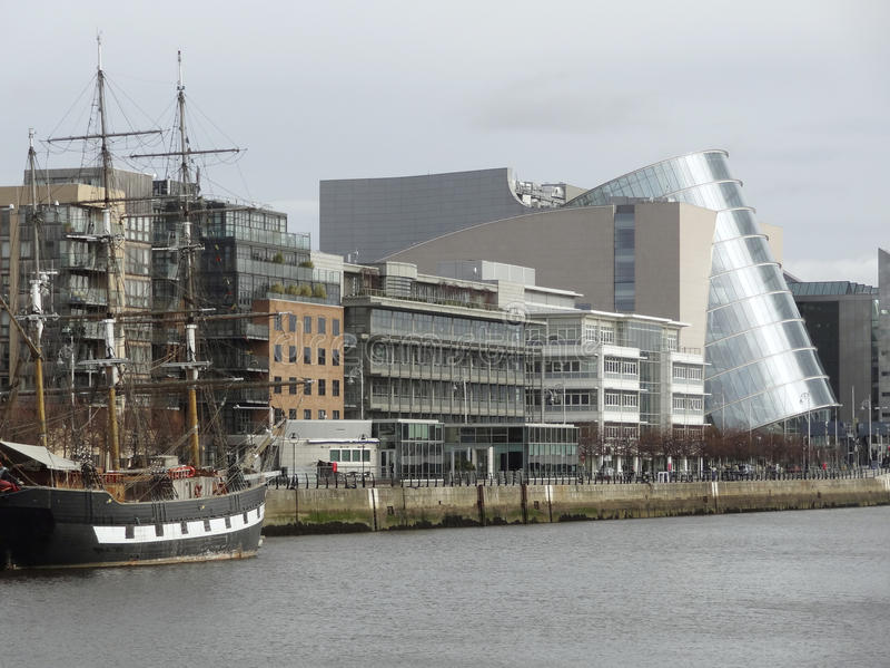 Конференц-центр Дублин стоковая фотография
