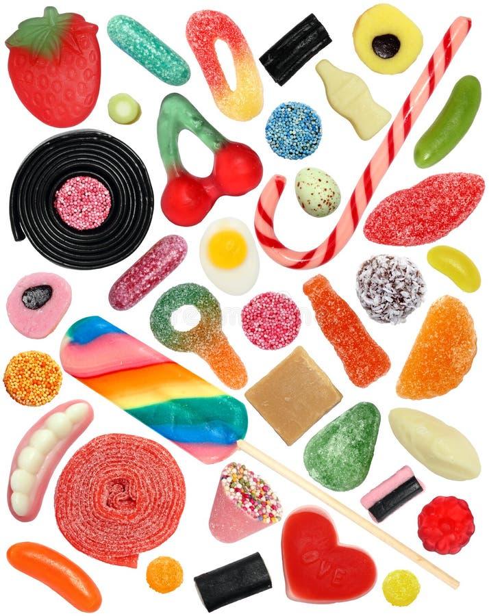конфета изолировала стоковые фотографии rf