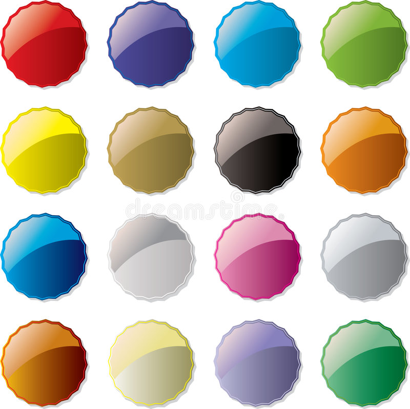 конфета кнопки иллюстрация вектора