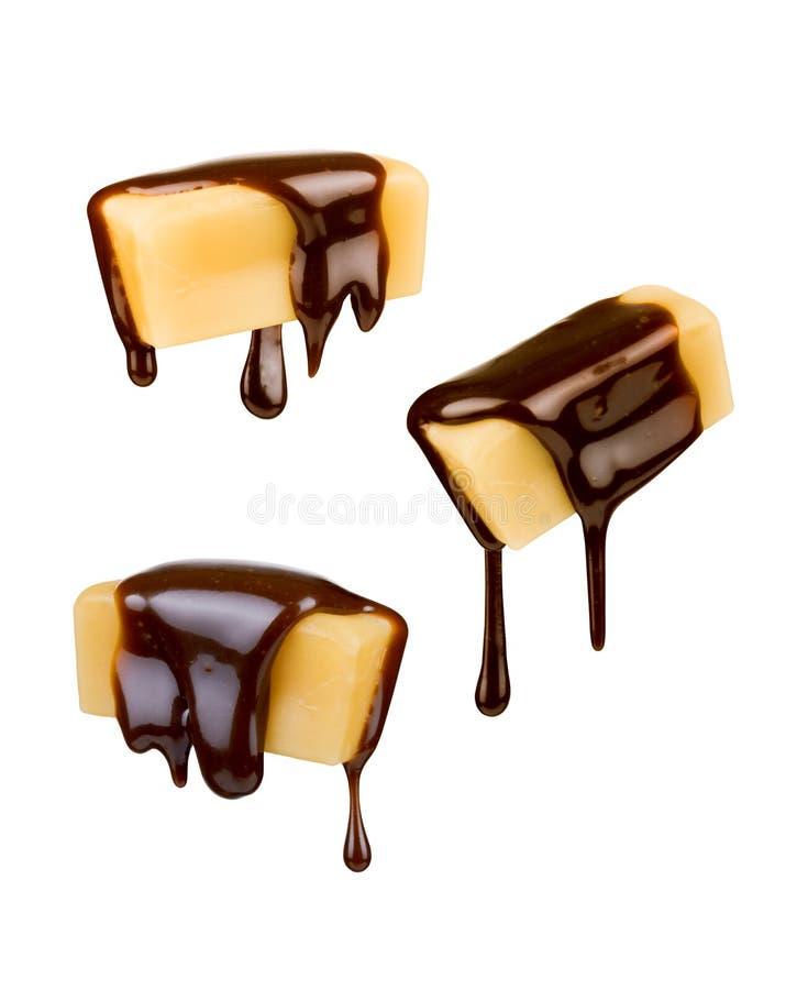Конфета молока в шоколаде стоковые изображения rf
