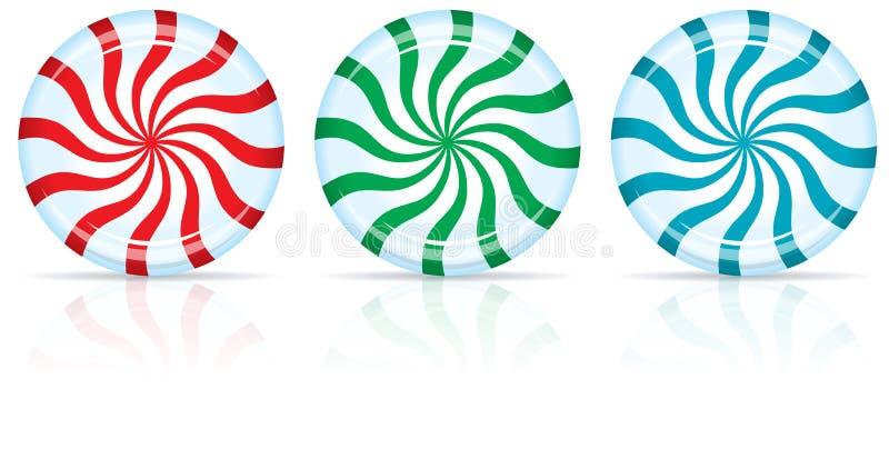 Конфета пипермента иллюстрация вектора
