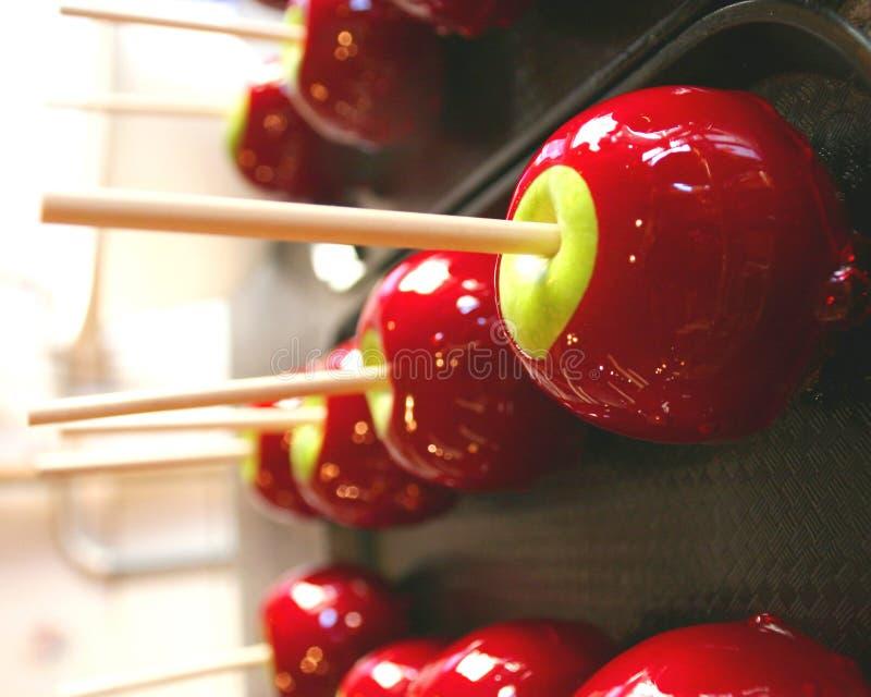 конфета яблока стоковые изображения rf