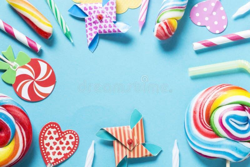 Конфеты дня рождения стоковое изображение