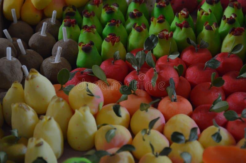 Конфеты от Мексики, artesanales de Мексика плодоовощ Artesanal Dulces стоковые фото