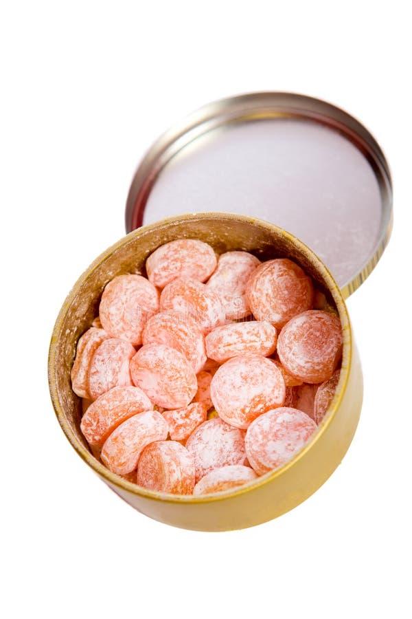 конфеты померанцовые Стоковые Изображения RF