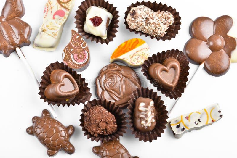 Конфеты шоколада стоковая фотография rf