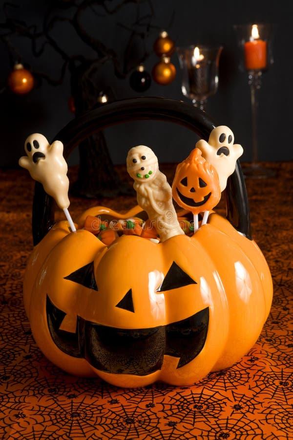 конфеты halloween стоковое фото