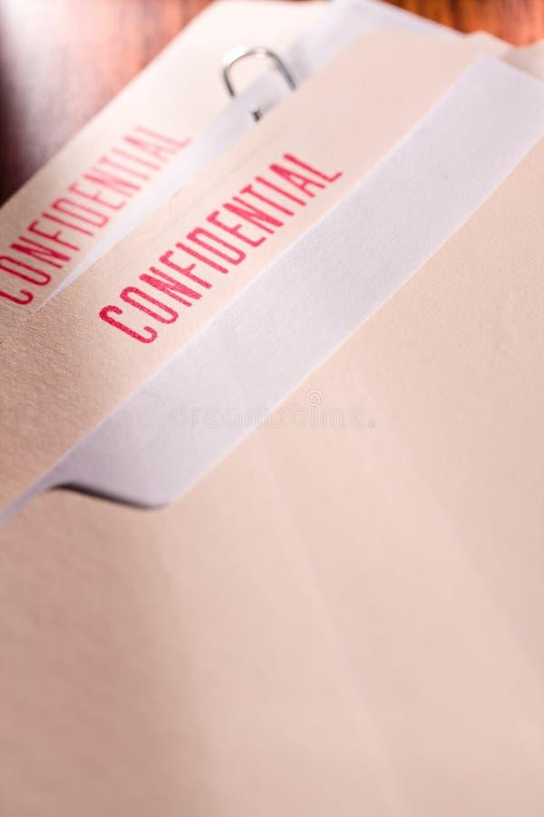 конфиденциальное содержание стоковое изображение rf
