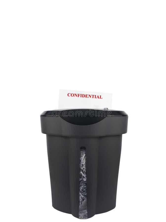 конфиденциальный shredding стоковое фото rf