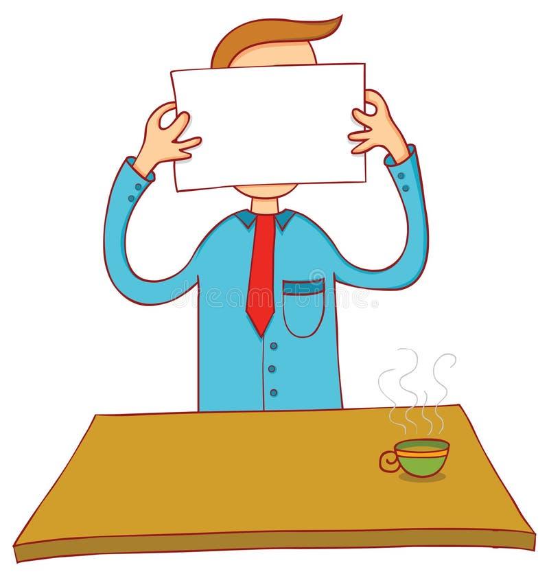 Download Конфиденциальная сторона иллюстрация вектора. иллюстрации насчитывающей потеха - 33726152