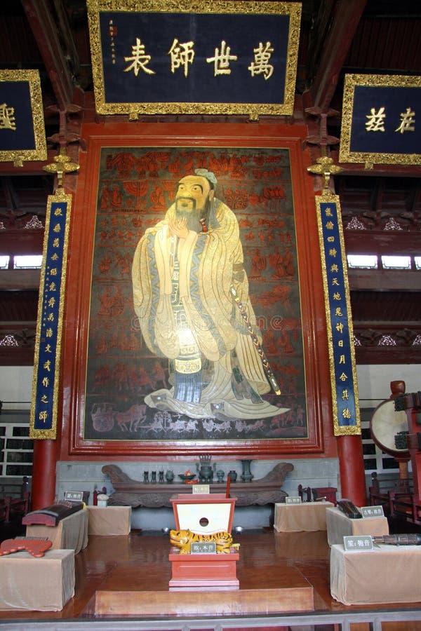 Конфуций стоковое фото