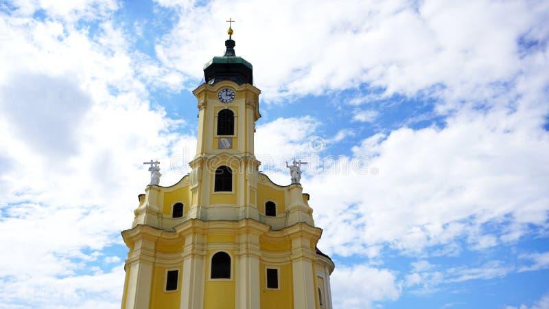 конца церков предпосылки камень неба голубого исторический возвышается вверх стоковые изображения rf