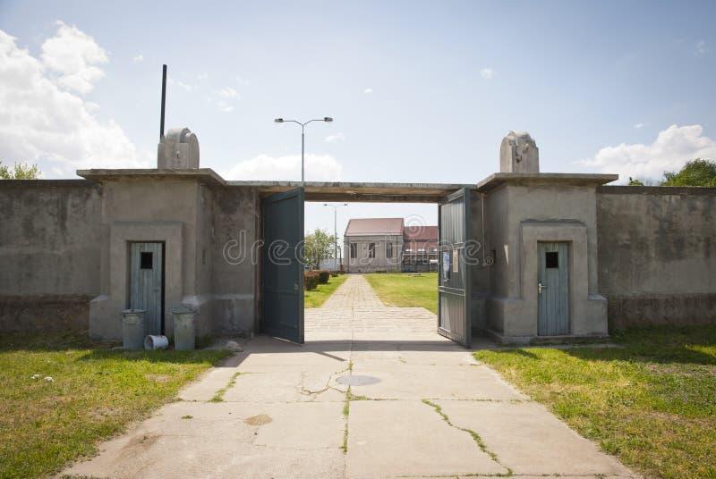 Концентрационный лагерь в Nis, Сербия стоковые фото