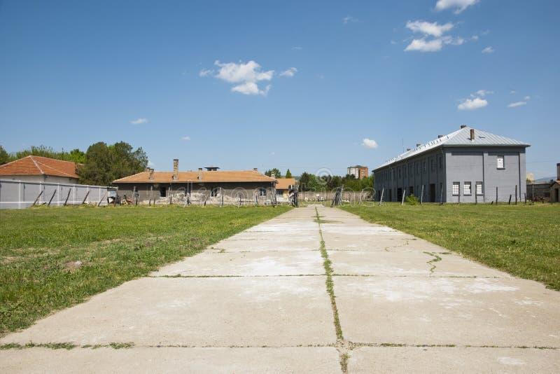 Концентрационный лагерь в Nis, Сербия стоковое изображение rf
