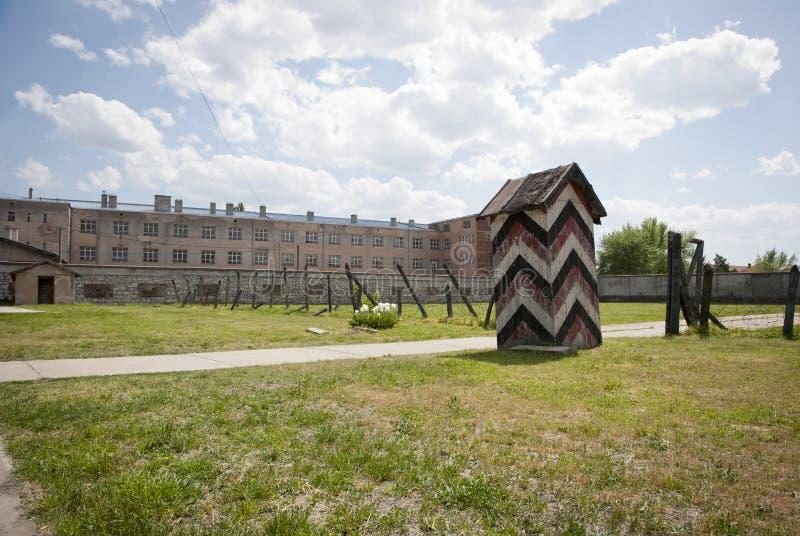Концентрационный лагерь в Nis, Сербия стоковое фото