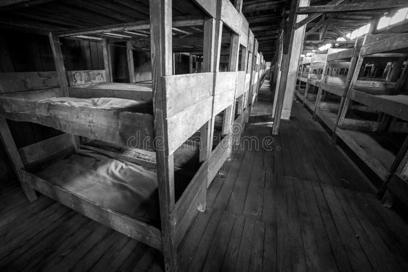 Концентрационный лагерь Majdanek в Люблине, Польше стоковая фотография rf