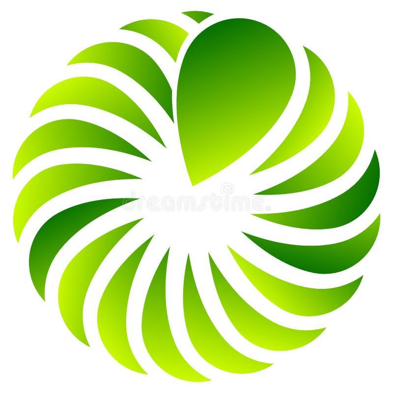 Download Концентрическая форма лист для природы, экологических концепций Иллюстрация вектора - иллюстрации насчитывающей экологическо, backhoe: 81801092