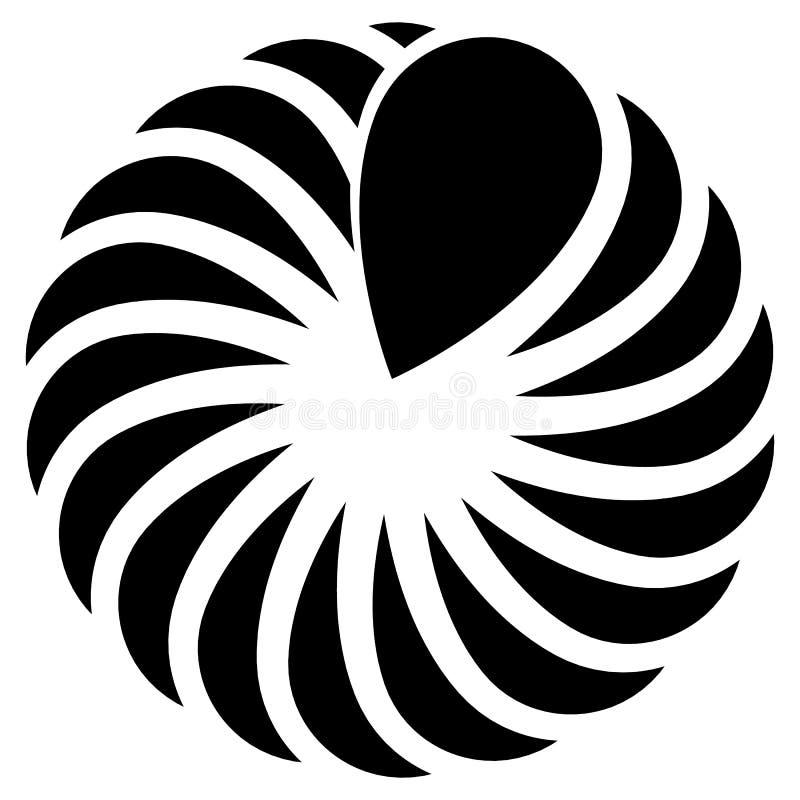 Download Концентрическая форма лист для природы, экологических концепций Иллюстрация вектора - иллюстрации насчитывающей график, мотив: 81801136
