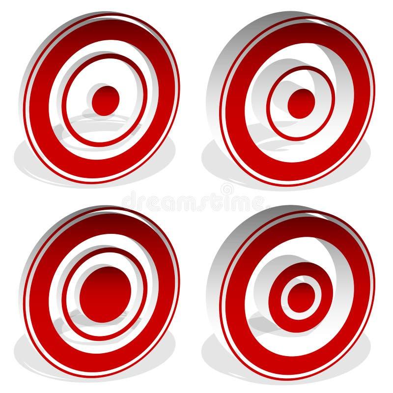 Download Концентрические круги, яблочко, перекрестие, перекрещение, метка I цели Иллюстрация вектора - иллюстрации насчитывающей midpoint, метка: 81811854