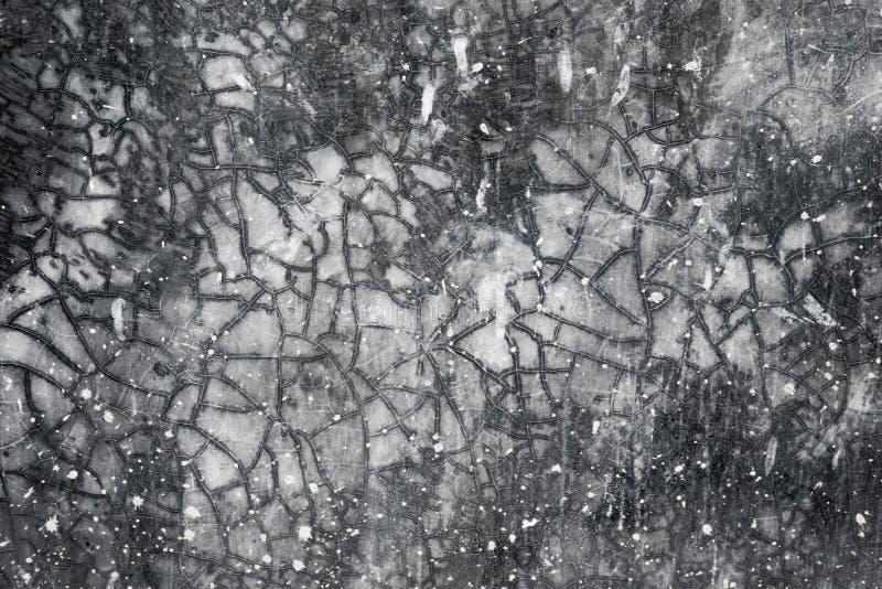 Концепции старой предпосылки стен серые черные стоковое изображение rf