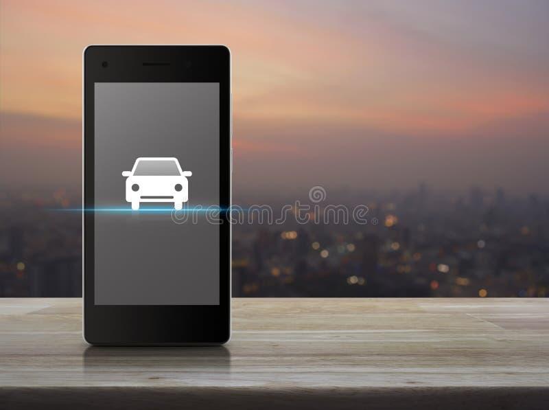 Концепция автомобиля такси обслуживания предприятий интернета стоковые фото
